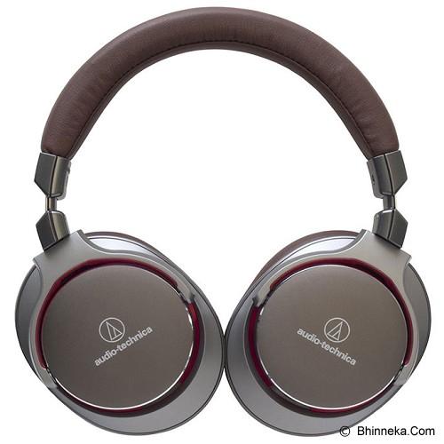 AUDIO-TECHNICA Hi Res Sound Quality Headphones [ATH MSR7] - Gun Metalik - Headphone Full Size